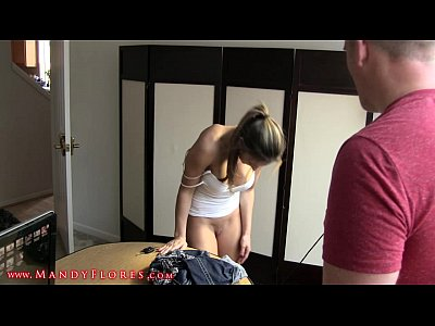 Brunette Cei Creampie video: I'll tell mom edit
