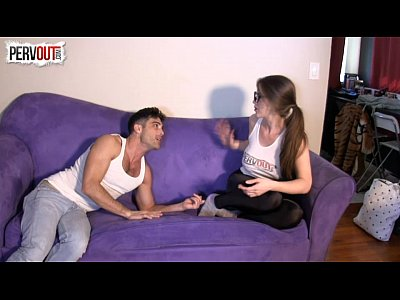 Choking Femaledomination Femdom video: Spandex Scissorhold Creeping On TerraMizu Lance Hart
