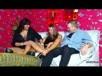 Hardcore Teen Threesome video: German Mom and Dad Seduce Young Girl to Fuck for Money
