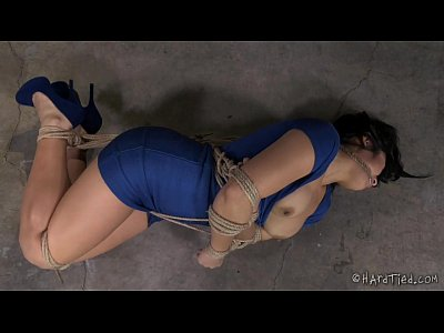Asian Bdsm video: Thick Asian In Rope Bondage