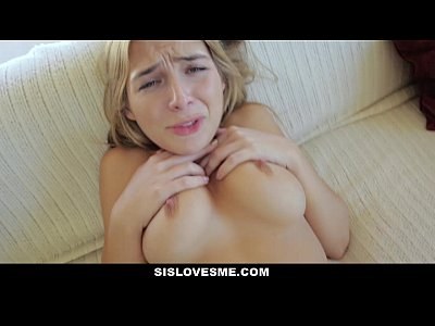 Bigtits Blairwilliams Blonde video: SisLovesMe - Sharing My Bed With Horny Step-Sis