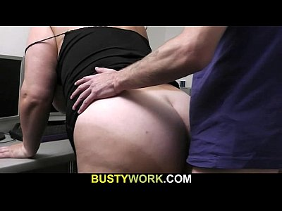 Hardcore Bbw Sex video: Huge bitch is fucked by future boss