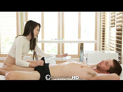 Sex Blowjob Brunette video: FantasyHD - Fun with ice cubes on a hot summer day with Emily Grey
