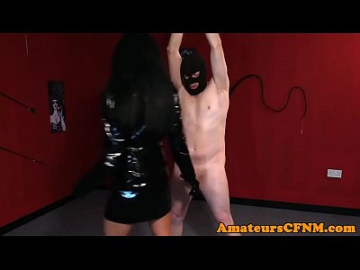 Amateursex Cfnm Domination video: CFNM femdom humiliating restrained sub