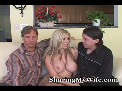 Blonde Blowjob Busty video: Hubby Needs Assistance From Buddy