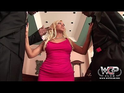 WCP Naughty housewife loves two BBC