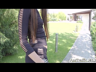 Analsex Assfuck Asstomouth video: Ass Traffic Deepthroat and anal fuck for polish pornstar