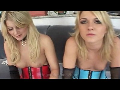 Toys Oral Blonde video: Extreme threesome sex with Lacie Hart & Dana Duval only at LegAction