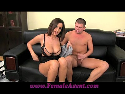 Bigboobs Bigtits Boobs video: FemaleAgent Big boobed MILF results in thick ropes of cum