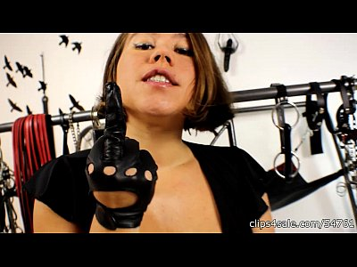 Brat Butt Femdom video: BP049-My Leather Gloves: Your Perdition Custom Video Preview