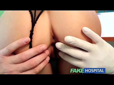 Doctor Exam Hiddencameras video: FakeHospital Beautiful patient prescribed a good wet fucking on desk as cure