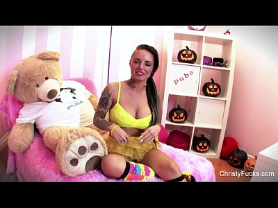 Bigtits Boobs Brunette video: Christy Mack Masturbates