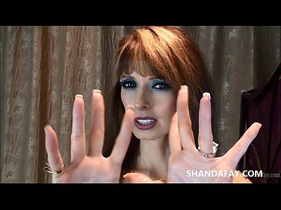 Massage Handjob xxx: Hot Canadian Amateur MILF Handjob with ShandaFay!