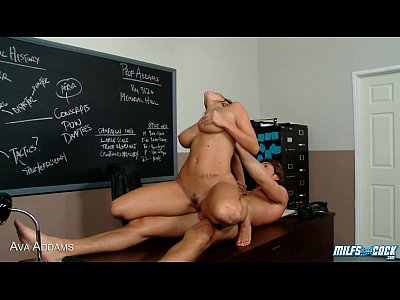 MILF Ava Addams gets fucked and facialized