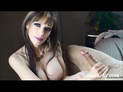 Handjob Milf Jizz video: Let Me Take Care of Your Cock!! ShandaFay!!