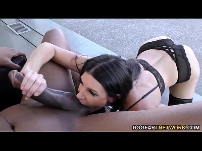 Bigblackcock Bigcock Bigdicks video: India Summer BBC Anal with Dredd