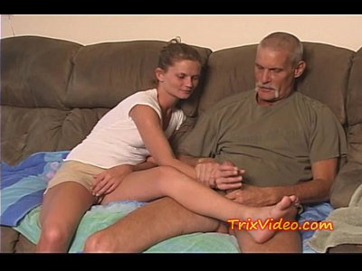 Slut Dirty Filthy video: Daddy fucks Daughter while mom's at work