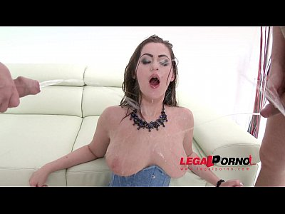 Bigtits Bigass movie: Piss drinking slut Kendra Star fucked by 3 guys & DP'ed SZ710