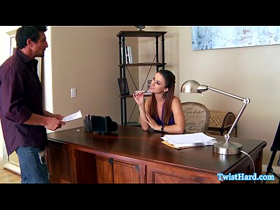 Babes Brunette Classy video: Karlie Montana doggystyle fucking