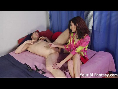 Femdom Fetish Humiliation video: Toying your ass while you jack off