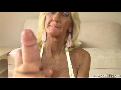 Mature Granny Horny video: Horny Granny Jerking Off