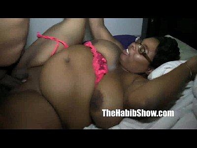 Amatuer Black Chocolate video: bbw milf big pussy clit fucked by redzilla monster dick