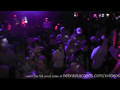 Exgirlfriend Firsttime Flashing video: crazy rave at woodys strip club in cedar rapids iowa