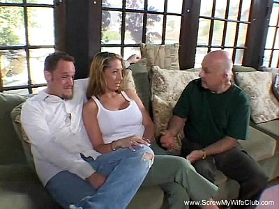 Cuckold Threesomes Swingers video: Wild Group Sex Swinger Party
