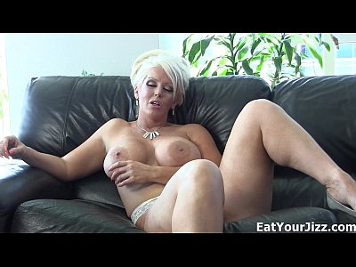 Cum Domination Eating video: Jolene makes you eat your cum