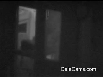 Amateur Cams video: Couple caught through a window on spy cam