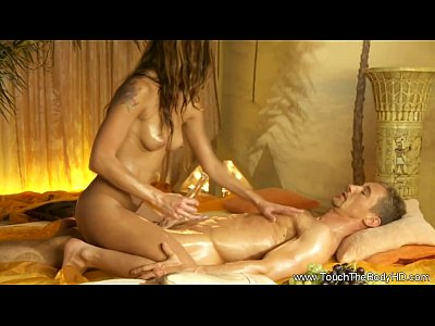 Cougar Couples Erotic video: Golden Massage With Handjob