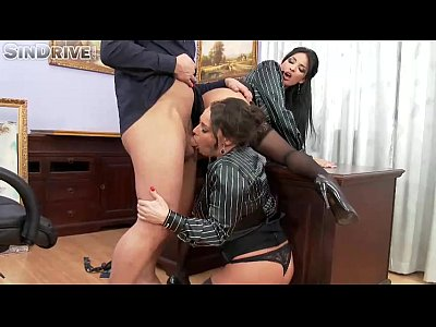 Wife video: Upperclassfuckfest - Anissa Kate, Nikita Devine - If The Boss Gets Mean, Office Chicks Become Ass&#0