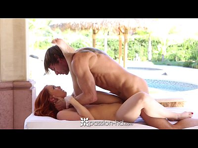 Porno video: HD - Passion HD Ginger Dani Jensen gets pussy slammed