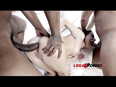 Anal Analbuffet Analfucking video: Lola Bulgari brutal 3on1 interracial anal & DP RS209