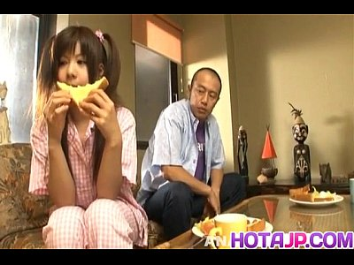 Asian Japanese Tits video: Shino Nakamura gets cum on fucked shaved crack from sucked cock