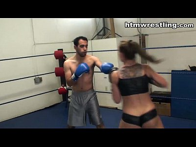 Femdom Fighting video: Cheyenne Jewel Boxing Beatdown