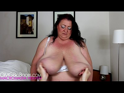 Voluptuous mature with young boy