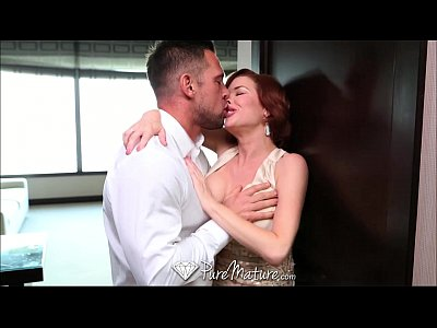 Blowjob Booty Busty video: PureMature Horny redhead just wants to suck and get fucked