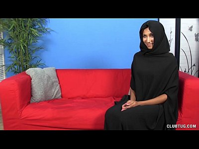 Interracial Handjob video: Muslim Handjob