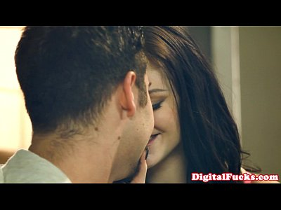 Blowjob Brunette Cocksucking video: Hottie Kendall Karson goes down on dude