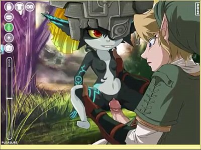 Midna fucks Link and he Fails into a Wolf for her