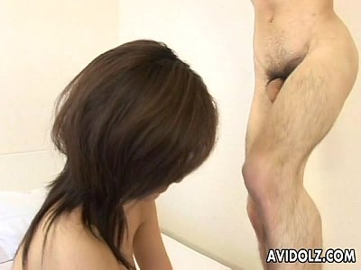 Sexy Japanese babe Miina Minamoto fucked hard uncensored