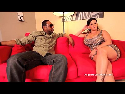 Milf Cum xxx: Big Titted Angelina Castro Pounded Hard by BIG Black Cock!