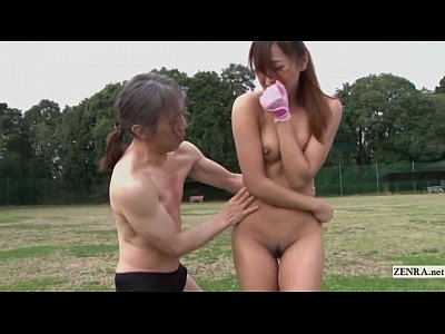Bizarre Fetish Foreplay video: Subtitled uncensored HD Japanese golf outdoors exposure