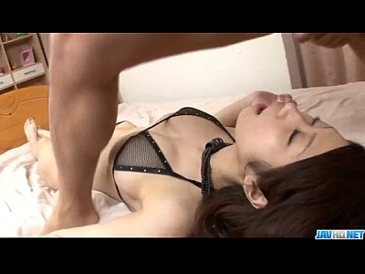 Asian Bang Blowjob video: Fuuka Takanashi swallows after raw blowjob