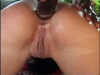 White woman violently fucked from behind by a black