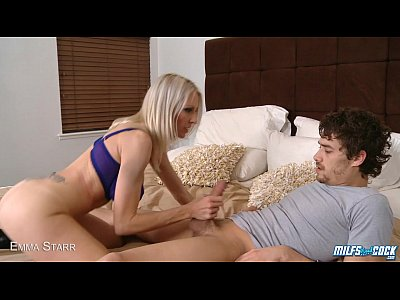 Milf Emma Starr suck and ride cock
