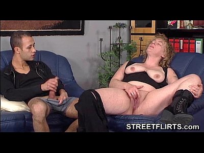 Doggystyle German Mmf video: german threesome with 2 guys and a chubby amateur babe