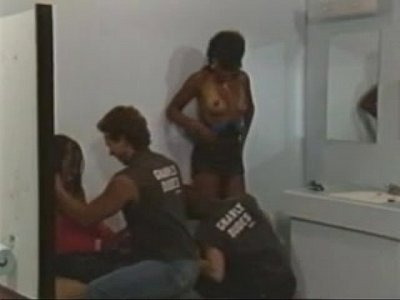 Vintage Ebony Threesome video: Black Valley Girls