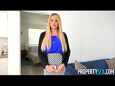 Bigcock Bigtits Blonde video: PropertySex - Vacation rental mishap turns into hot sex with busty agent